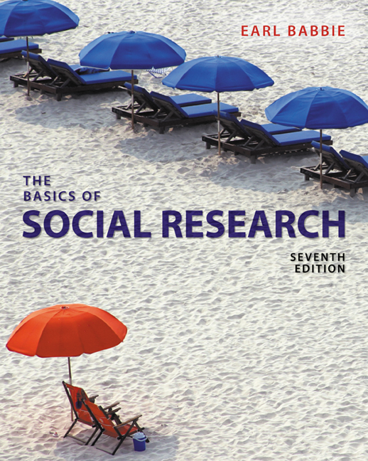 The practice of social research, 13th edition by babbie, earl r.