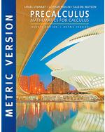 Precalculus Mathematics For Calculus International Metric Edition