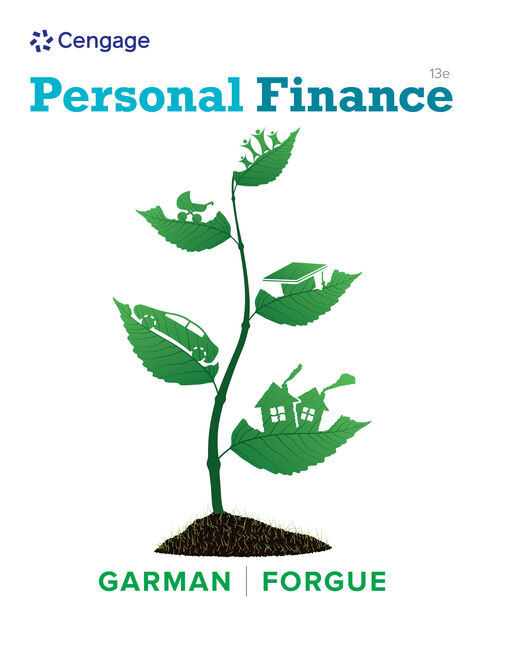 Personal Financial Literacy - 9781305653078 - Cengage