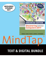 Bundle Enhanced Discovering Computers 2017 LMS Integrated MindTap Computing 2 Terms 12 Months Printed Access Card