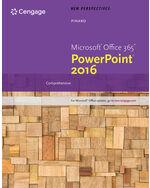 EPack New Perspectives MicrosoftR Office 365 PowerPoint 2016 Comprehensive SAM Assessments Trainings And Projects With 2 MindTap Reader