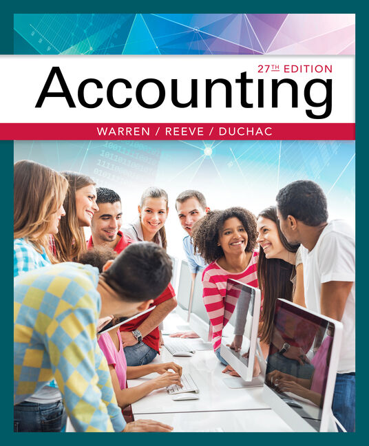 Working Papers, Chapters 18-26 for Warren/Reeve/Duchac's Accounting, 27E