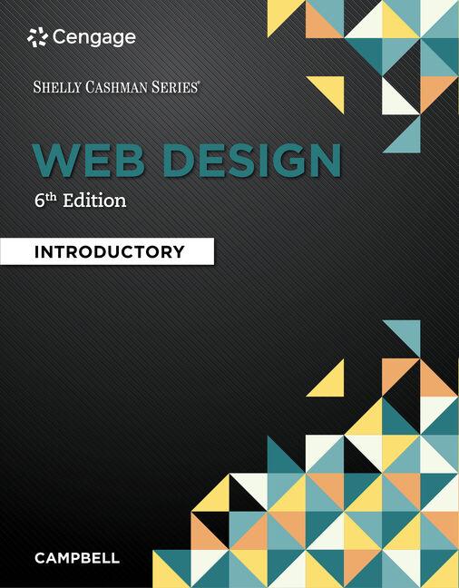 Web Design 9781337277938 Cengage