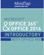LMS Integrated MindTap Computing 1 Term 6 Months Instant Access For MicrosoftR Office 365 2016 Introductory With Mix 1st Edition