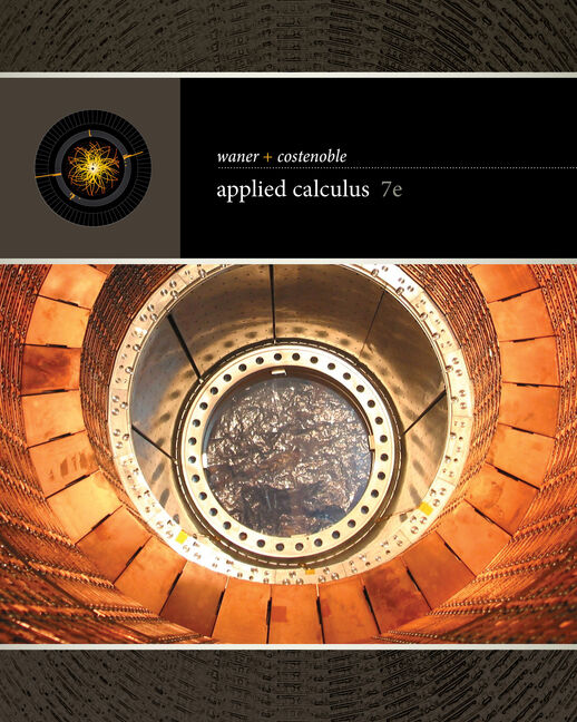 Student Solutions Manual for Waner/Costenoble's Applied Calculus, 7th