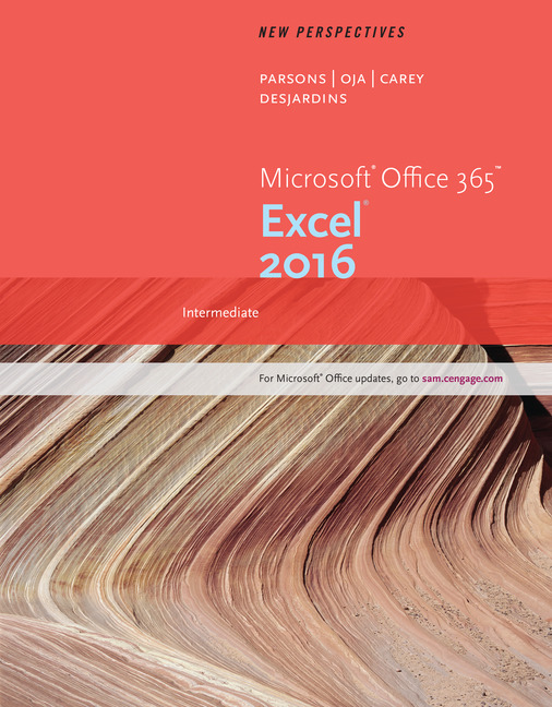 eBook: New Perspectives Microsoft® Office 365 & Excel 2016: Intermediate
