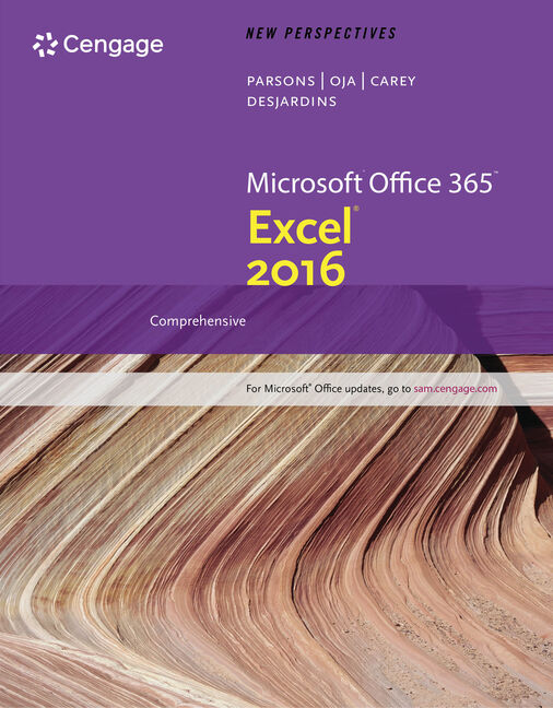 eBook: New Perspectives Microsoft® Office 365 & Excel 2016: Comprehensive