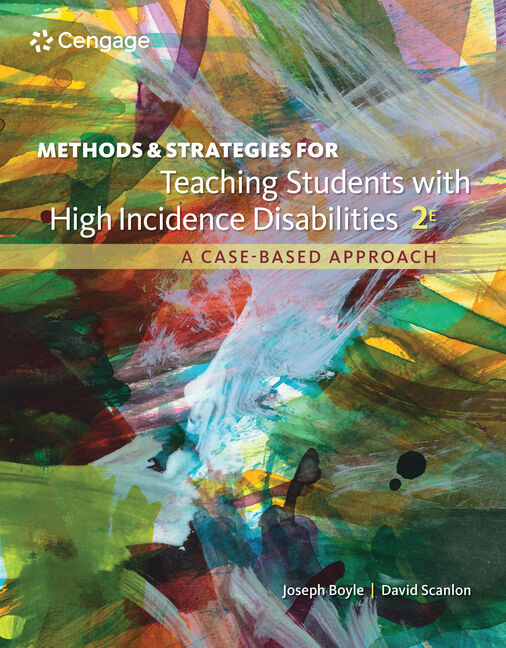 Methods and Strategies for Teaching Students with High Incidence Disabilities