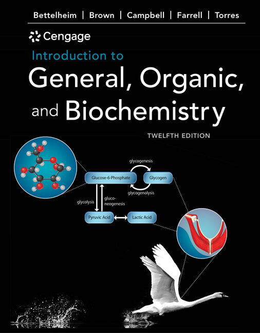 Student Solutions Manual for Bettelheim/Brown/Campbell/Farrell/Torres' Introduction to General, Organic, and Biochemistry