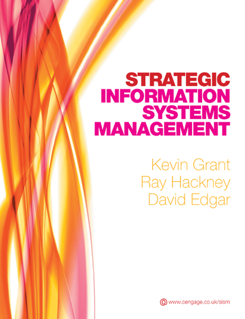 Strategic Information Systems Management 9781408007938 Cengage