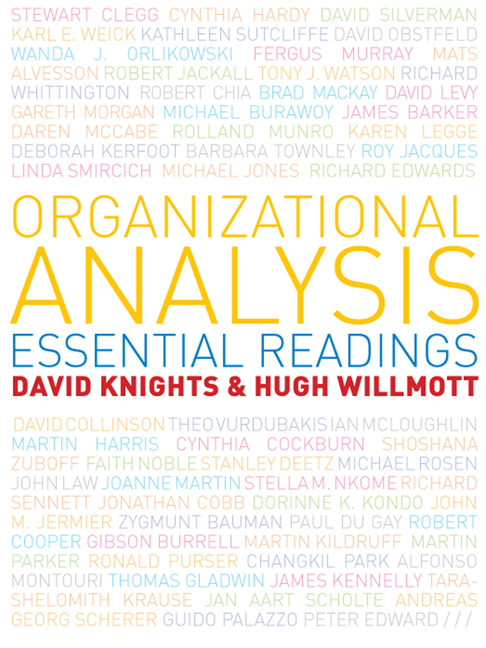 Organizational Analysis: Essential Readings