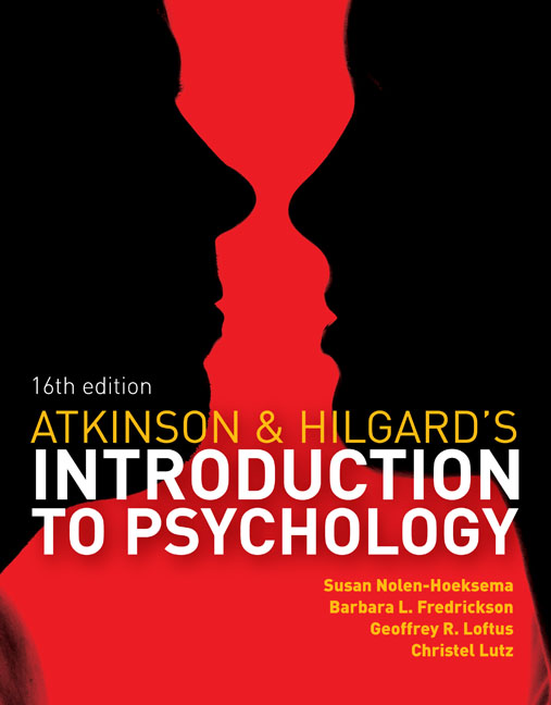 Atkinson And Hilgard S Introduction To Psychology 9781408044100 Cengage