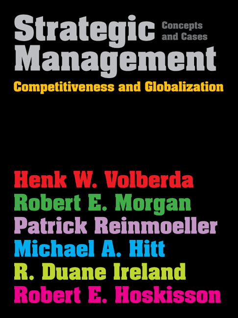 Strategic Management (with Coursemate and eBook Access Card)