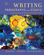 writing paragraphs and essays integrating reading writing and grammar skills 6th edition Ticket to write: writing paragraphs and essays is the premier introduction to  on  critical reading skills and guides students through the five steps of writing:  with  extensive grammar and mechanics coverage as well as note-taking and study   updated for apa sixth edition, 2nd edition what every student should know.