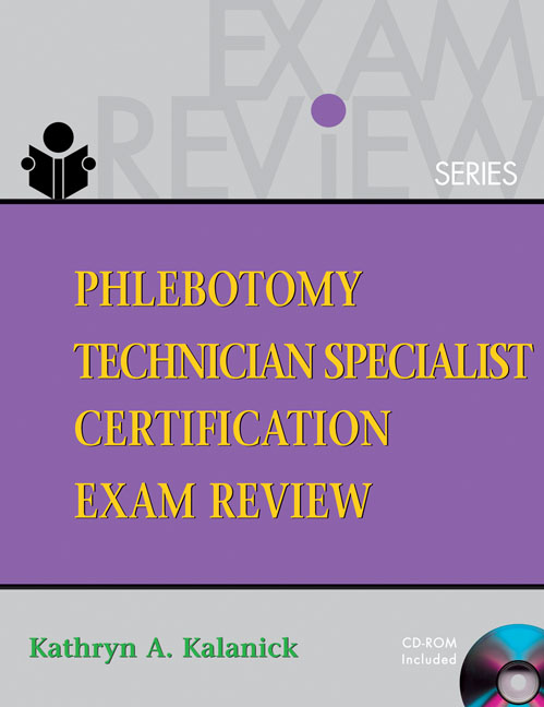 Phlebotomy Technician Specialist 9781418001407 Cengage