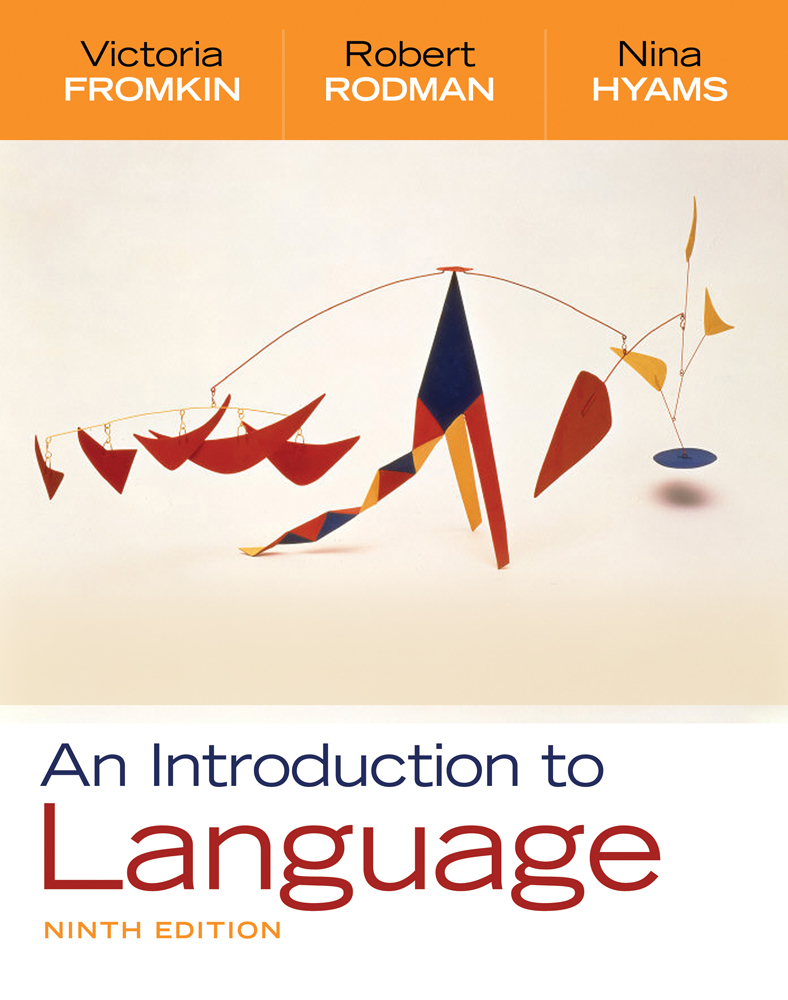 An introduction to language 9781337559577 cengage an introduction to language fandeluxe Image collections
