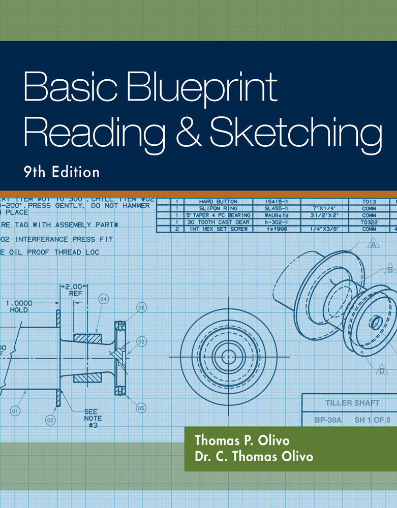 Basic blueprint reading and sketching 9781435483781 cengage basic blueprint reading and sketching malvernweather Choice Image