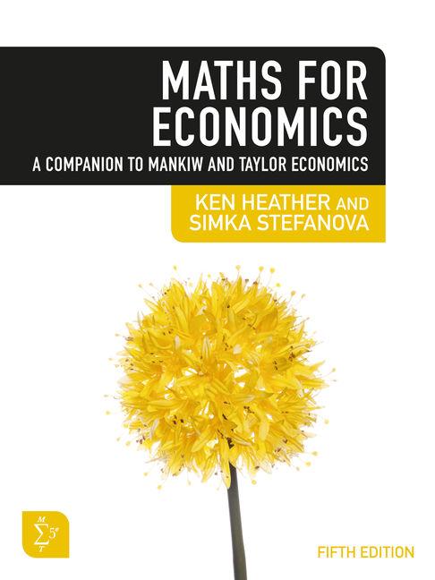 3I eBook: Maths for Economics 5e