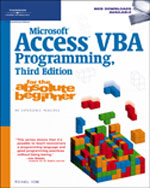 access vba programming Tutorials for microsoft access, focusing on vba code tips, sql optimization, with sample databases available.