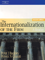 the internationalization of a multinational enterprise This study was directed towards investigating the critical success factors of sme internationalization  1976) the future of the multinational enterprise.