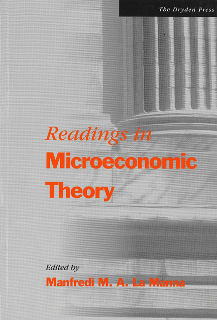 Readings in Microeconomic Theory