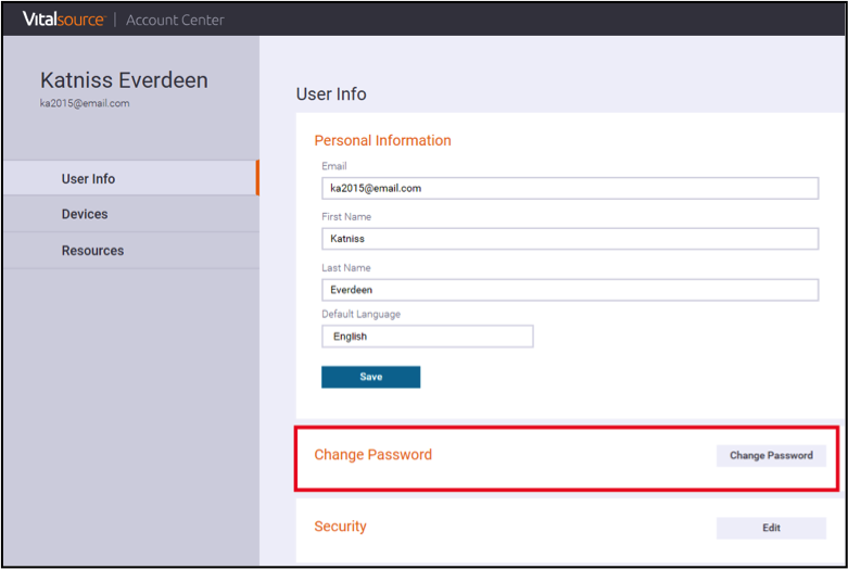 Frequently asked questions about cengagebrain from the user info screen click change password fandeluxe Images