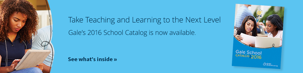 Browse the 2015 school catalog from Gale.