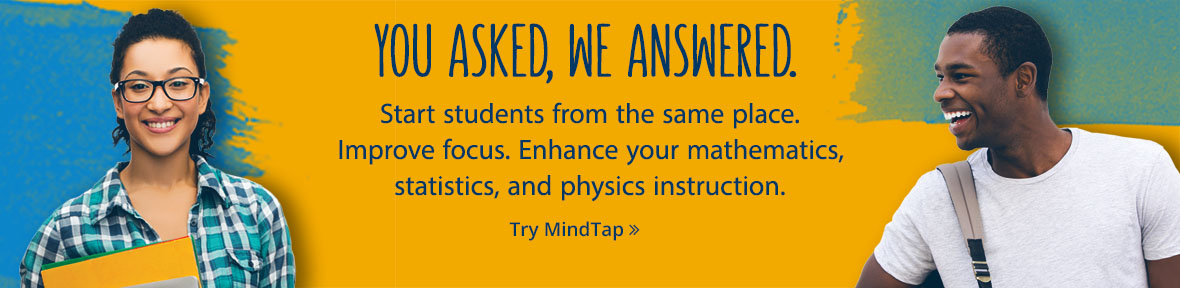 Online Learning Solutions Larson Ron   Calculus   Calculus     Cengage Enhance your mathematics  statistics  and physics instruction  Try MindTap