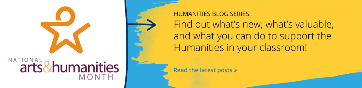 Find out about National Arts & Humanities Month.
