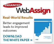 Download a white paper describing how Enhanced WebAssign improved student engagement in developmental math