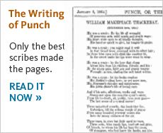 Read the Writing of Punch