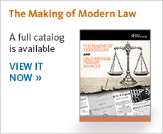 View the latest The Making of Modern Law brochure