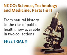 From natural history to the rise of public health, now available in two collections. Get free trial now.