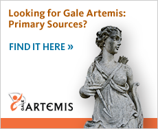 Looking for Gale Artemis: Primary Sources? Find it here.