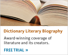 Get a free trial of Dictionary Literary Biography