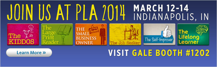 Join us at PLA 2014. March 12-14 in Indianapolis, IN. Learn more.