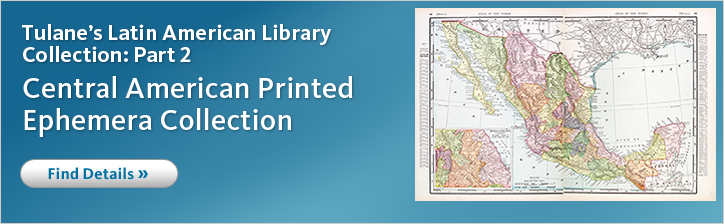 Access Tulane University's Latin American History and Culture collection on microform, only from Gale.