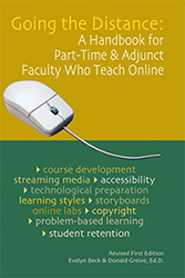 Prize is Going The Distance Handbook for part time and adjunct who teach online