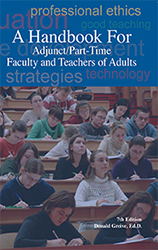 Prize is A Handbook for Adjunct Part Time Faculty and Teachers of Adults