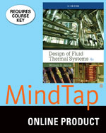 MindTap® Engineering, 2 terms (12 months) Instant Access for Janna's Design of Fluid Thermal Systems, SI Edition