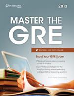 Peterson's Bundle 1: Peterson's Master The GRE 2013