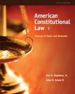 American Constitutional Law: Sources of Power and Restraint, Volume I