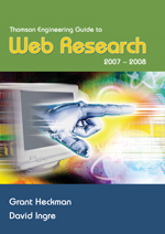 Thomson Engineering Guide to Web Research 2007-2008