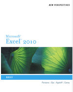 New Perspectives on Microsoft® Excel® 2010: Brief