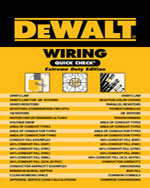DEWALT® Wiring Quick Check