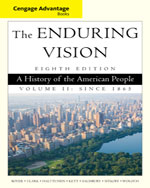 Cengage Advantage Series: The Enduring Vision: A History of the American People, Volume II