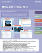 Microsoft® Office 2010 CourseNotes