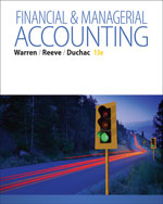 Financial & Managerial Accounting, 13e