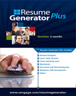 Resume Generator Plus (12 months) Printed Access Card