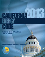 2013 California Energy Code, Title 24 Part 6
